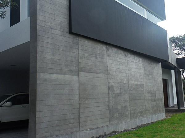Concretarte decoraci n de paredes exteriores quito ecuador for Decoracion para paredes exteriores